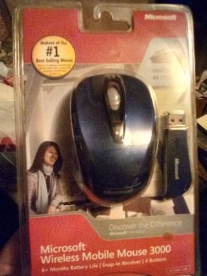 MICROSOFT WIRELESS LASER MOUSE for Sale in York, PA