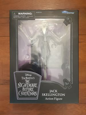 Diamond select The Nightmare Before Christmas Disney Jack Skellington action figure for Sale in Torrance, CA
