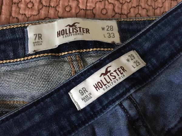Women's Hollister Jeans size 7R & 9R