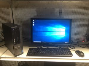 DELL desktop i5 processor 8gb ram comes with monitor keyboard and m.. for Sale in Medford, MA