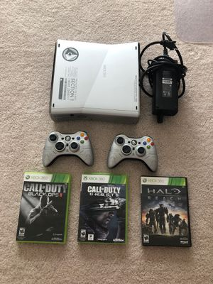 Xbox 360 Halo Reach Edition with three games for Sale in Vienna, VA