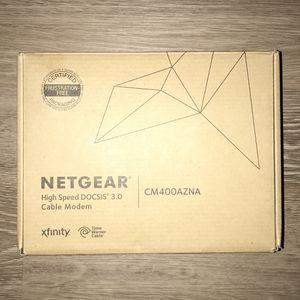 Netgear High Speed DOCSIS 3.0 Cable Modem CM400 for Sale in Gilbert, AZ