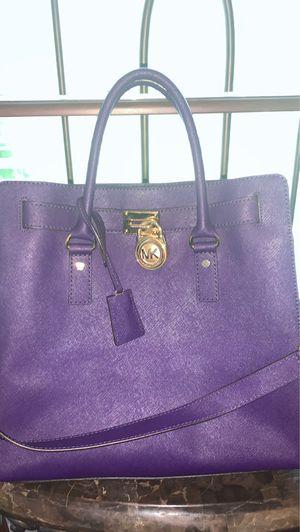 Purple Micheal Kors Designer Handbag for Sale in Newnan, GA
