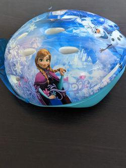 Frozen Helmet For Girls for Sale in Sunnyvale,  CA