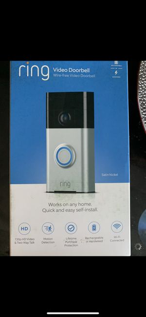 Ring Doorbell for Sale in Temple Hills, MD
