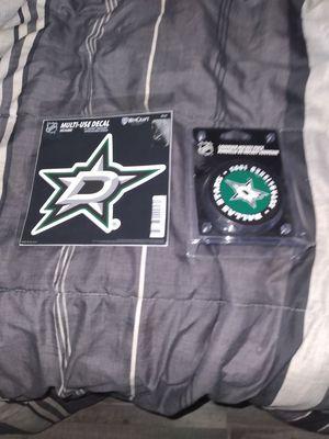 Brand new stars hockey puck Plus Stars sticker brand new for Sale in Dallas, TX