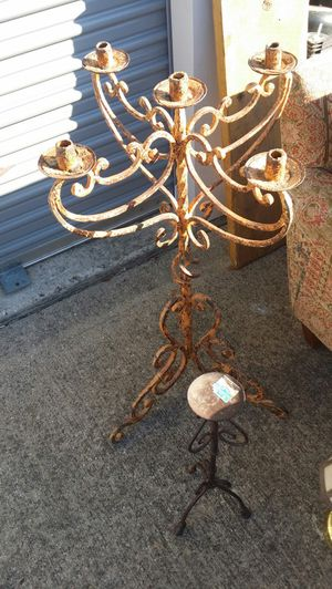 Iron candelabras for Sale in Fort Worth, TX