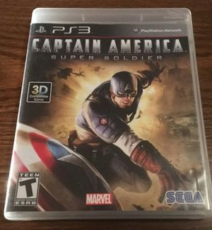 Captain america ps3 game for Sale in Lorain, OH