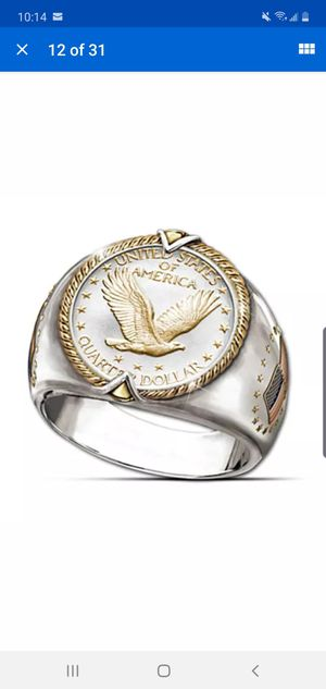 925 Silver Eagle Ring for Sale in Baltimore, MD