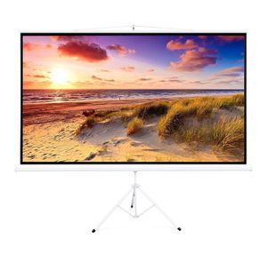 100in Portable 16:9 Projection Screen w/ 87x49in Foldable Stand, 1.3 Gain - White for Sale in Scarsdale, NY