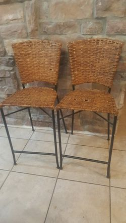 2 bar stools reduced price minor imperfections for Sale in Chandler,  AZ