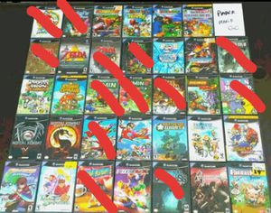 TONS Of Nintendo GAMECUBE Games For $$$ for Sale in Riverside, CA