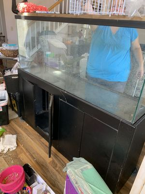 100 Gallon Tank + Stand for Sale in GLMN HOT SPGS, CA