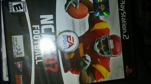 Ps2 Ncaa football 07 for Sale in Madera, CA