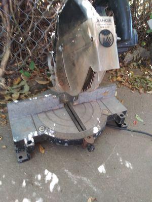 Black & Decker chop saw or miter saw for Sale in Oklahoma City, OK