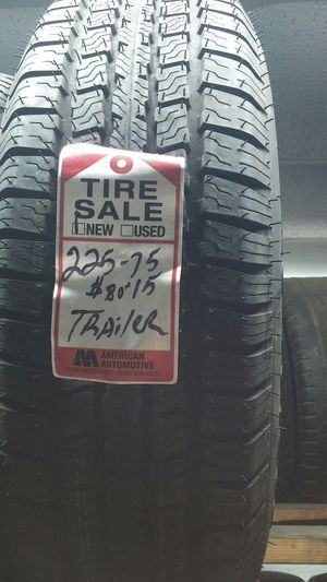 2257515 one new tire for trailer mount for Sale in Houston, TX