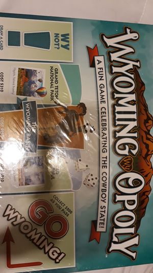 MONOPOLY Wyoming cowboy state board game for Sale in Chicago, IL