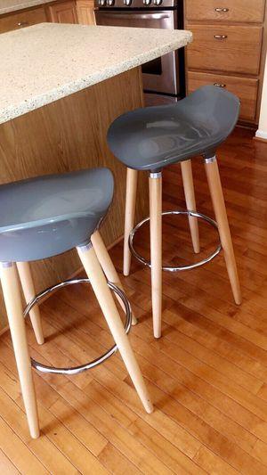 Gray wooden stools for Sale in Fairfax, VA