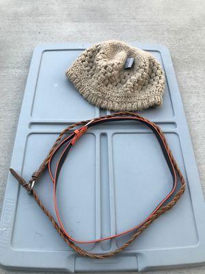 Free Women's Beanie & 2 Sm. Belts for Sale in Pico Rivera, CA
