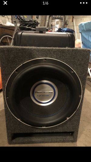 Amp is a lil over 100$ by itself make offer for Sale in Sandston, VA