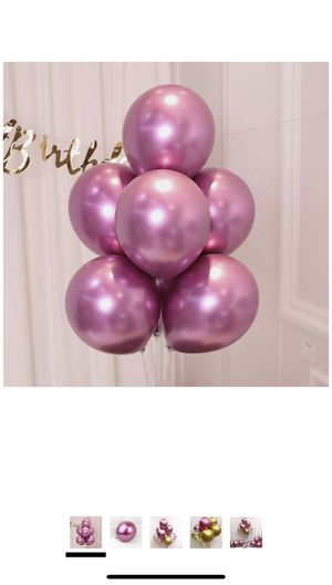50 pc pink balloons for Sale in Los Angeles, CA