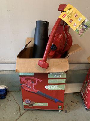 Toro leaf blower/vacuum for Sale in South Amboy, NJ