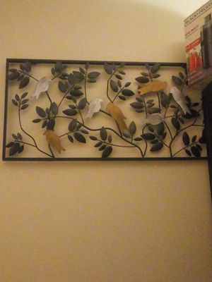Metal wall decor frame for Sale in Everett, MA