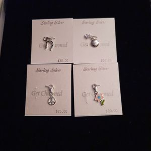 Sterling Silver Assort Charms for Sale in Washington, DC