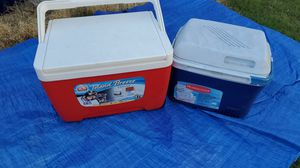 Igloo & rubbermaid cooler for Sale in Westminster, CA