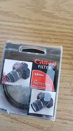 Canon filter for Sale in Visalia,  CA