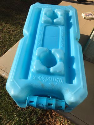 Stackable water brick container for Sale in Honolulu, HI