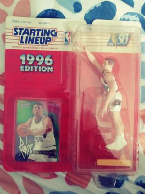 Bryant Reeves NBA '96 Collectable Action Figure for Sale in Las Vegas, NV