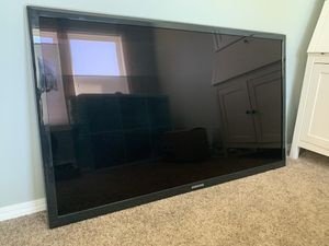 60 inch Samsung TV. Beautiful picture and very thin. Works perfect! for Sale in Tigard, OR