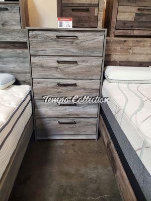 5 Drawer Chest, Rustic Grey, SKU# ASHB221-46TC for Sale in Santa Fe Springs, CA