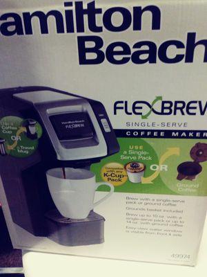 Flex brew coffee maker for Sale in Salt Lake City, UT