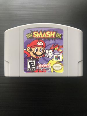 Super Smash Bros. (Nintendo 64, 1999) N64 - Tested, Working, Great Gift! (Read) for Sale in Pembroke Pines, FL