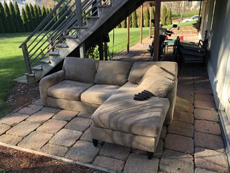 Couch With Chaise for Sale in Stoughton,  MA