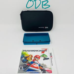 3DS Aqua Blue w/ Mario Kart - Nintendo for Sale in Kansas City, MO