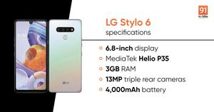 The Brand New LG Stylo 6 is Here for Sale in Kingsport, TN