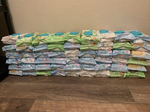 Pampers Wipes for Sale in Grand Prairie, TX