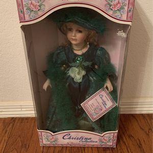 Christina Collection Porcelain Doll for Sale in Grapevine, TX