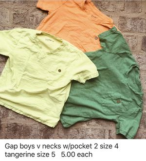 Boys Graphic T-Shirts 5.00 (description below picture) for Sale in Vidalia, GA