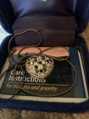 Montana silver heart necklace for Sale in New Castle, DE