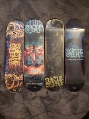 Suicide silence skate decks for Sale in Barstow, CA