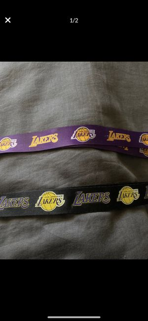 Lakers Dog Collar & Lanyards for Sale in Fresno, CA