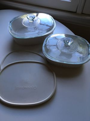 CorningWare French stoneware white for Sale in Los Angeles, CA