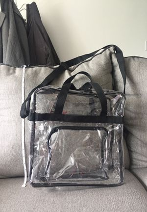 Stadium approved clear purse/bag for Sale in Montville, CT