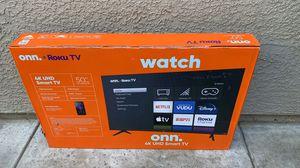 50 inch roku smart tv brand new for Sale in Sacramento, CA