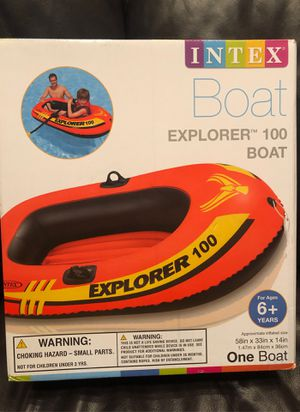 NEW unopened Explorer 100 Inflatable Boat for Sale in Marysville, WA