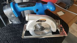 Drill Master 18v battery powered circular saw for Sale in San Diego, CA